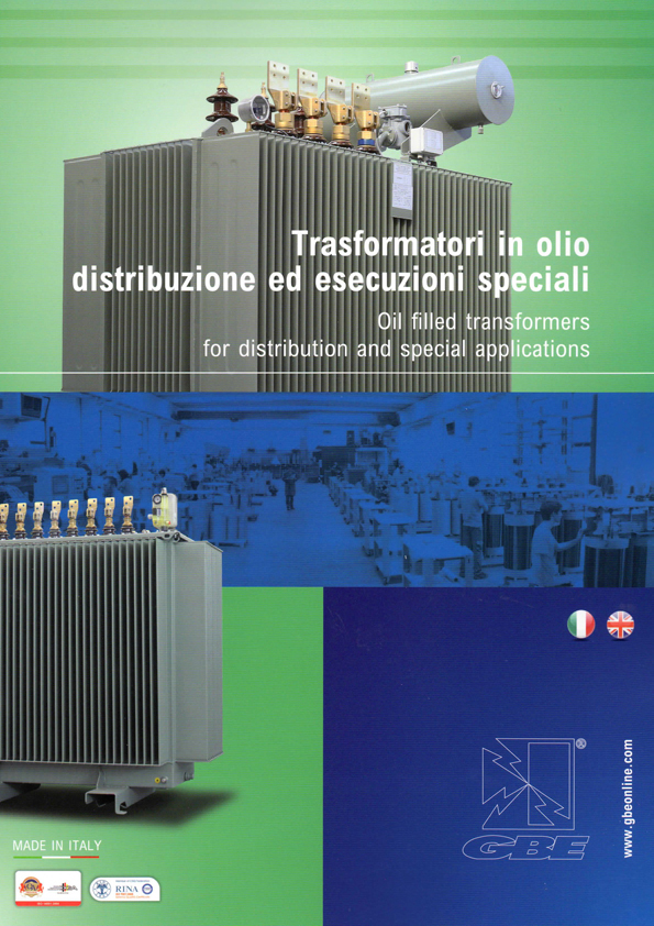 Oil Filled Transformers for Distributions and Special ITA ENG